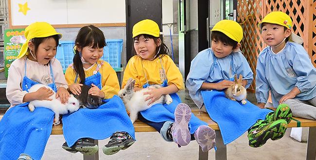 4月の若竹石川ナーサリールームイベント